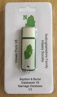 Upgrade Pack - Baptism & Burial Viewer V8 and Marriage Viewer V3 on USB  Flash Drive